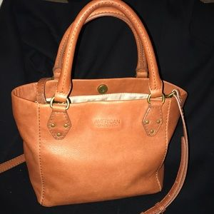 American Leather Tote Crossbody